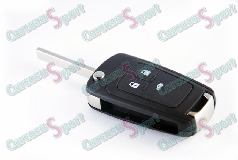 Carcasa para llave Opel y Chevrolet (4597862)