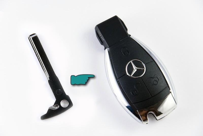 Espadín para llave Mercedes 2008 (384565)