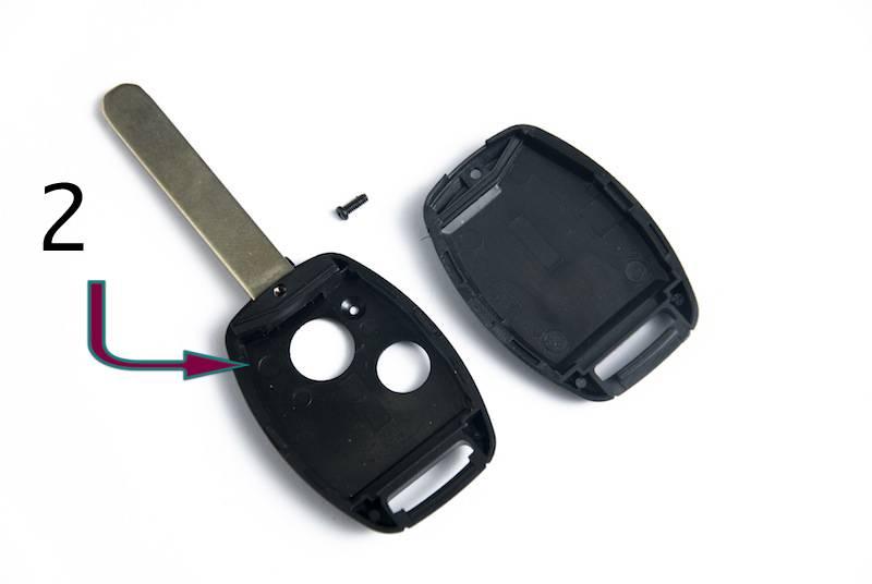 Carcasa para llave Honda 2 Botones (172189)